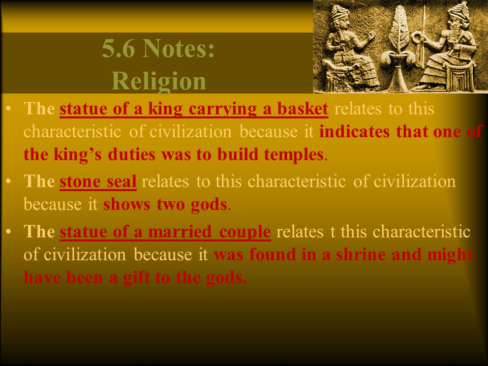 5.6 Notes: Religion