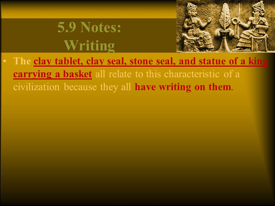 5.9 Notes: Writing