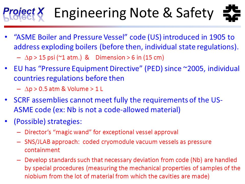 Engineering Note & Safety
