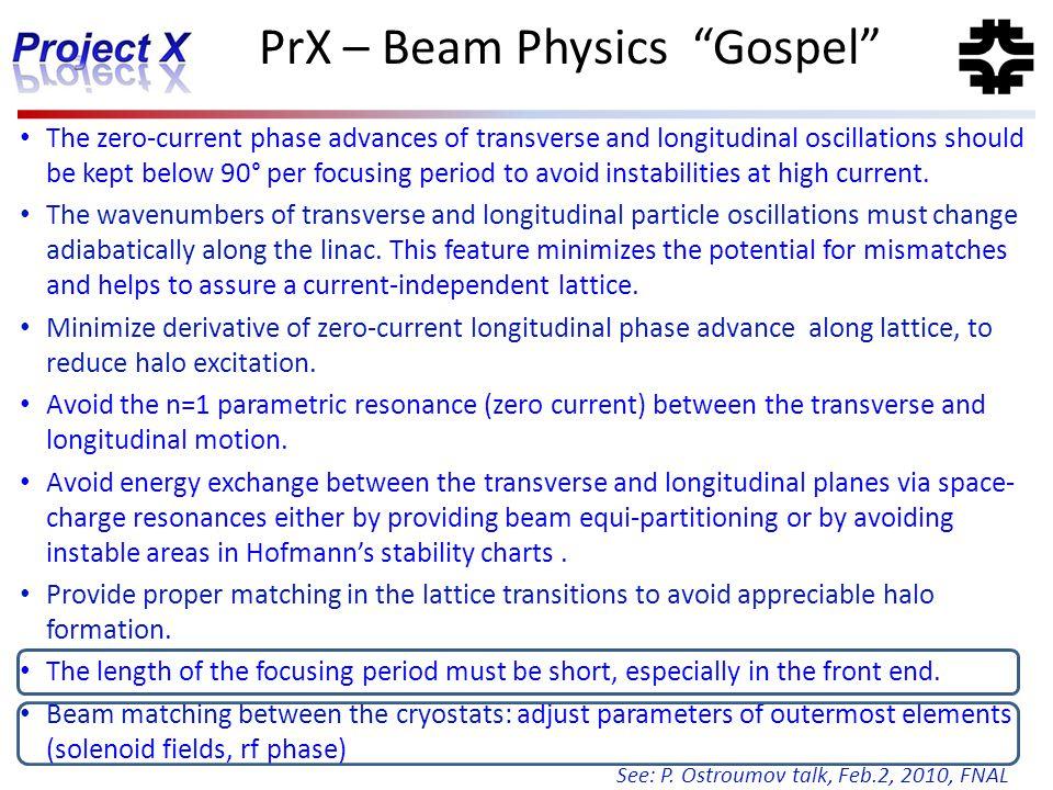 PrX – Beam Physics Gospel