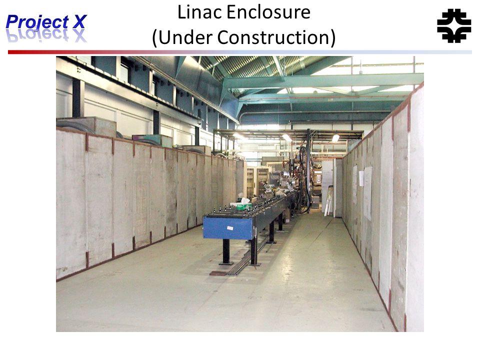 Linac Enclosure (Under Construction)