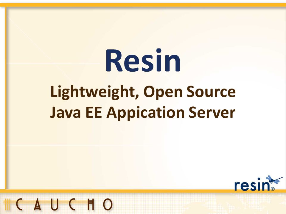 Lightweight, Open Source Java EE Appication Server