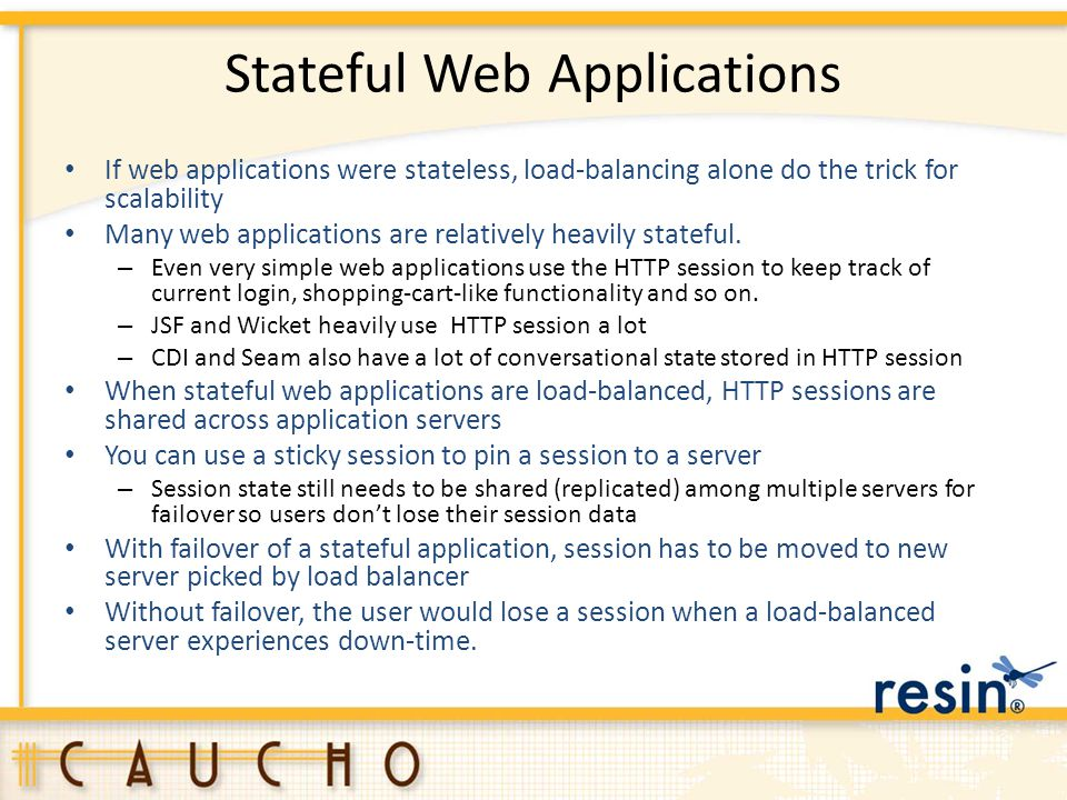 Stateful Web Applications