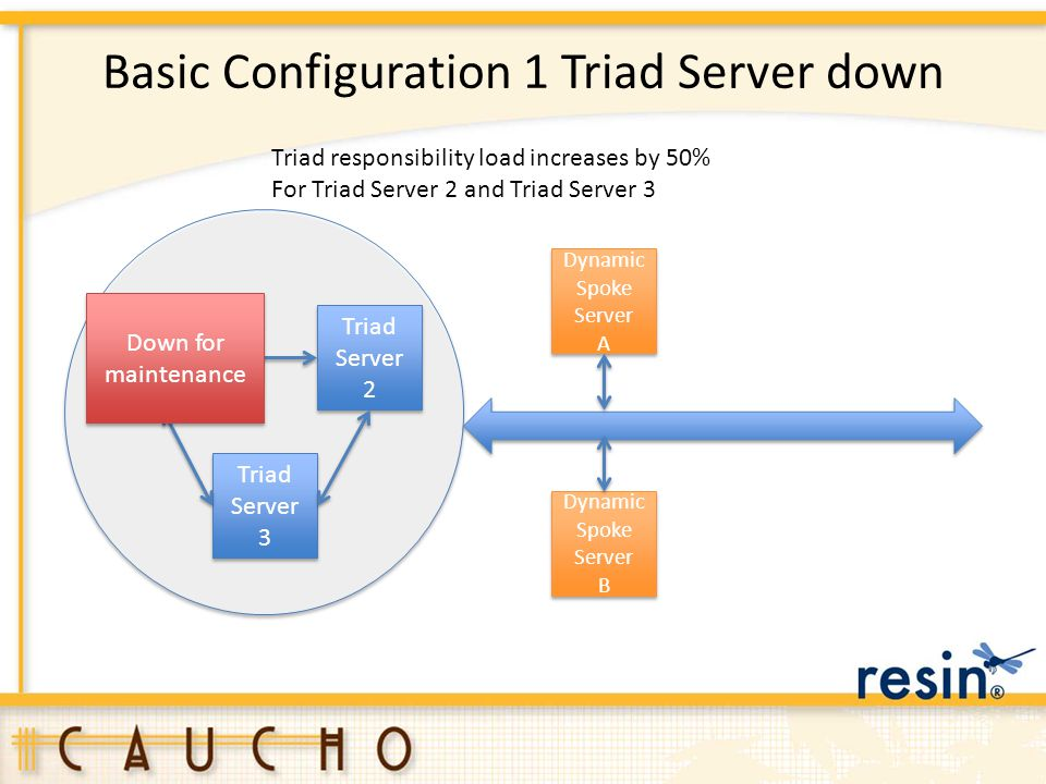 Basic Configuration 1 Triad Server down