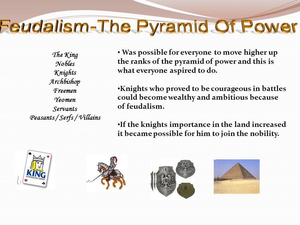 Feudalism-The Pyramid Of Power