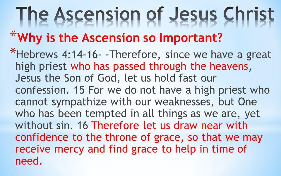 The Ascension of Jesus Christ