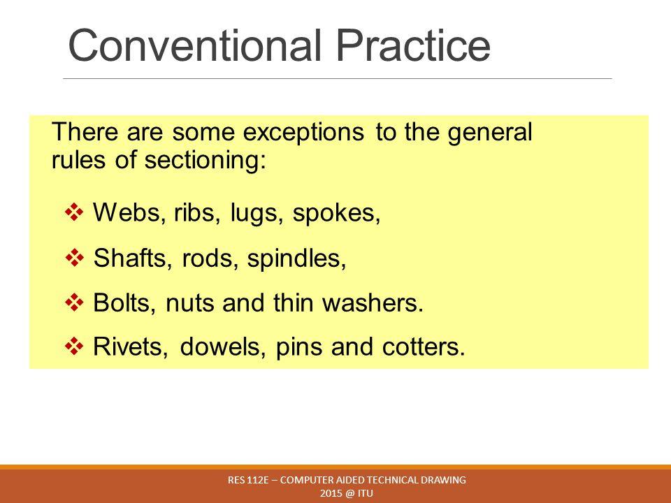 Conventional Practice