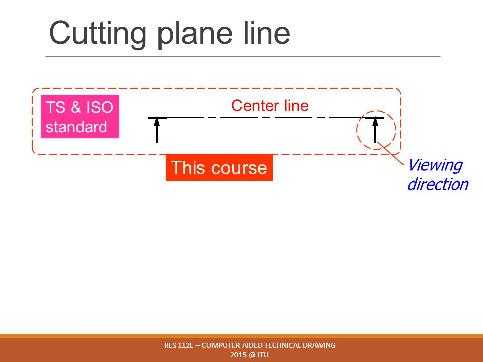 RES 112E – COMPUTER AIDED TECHNICAL DRAWING