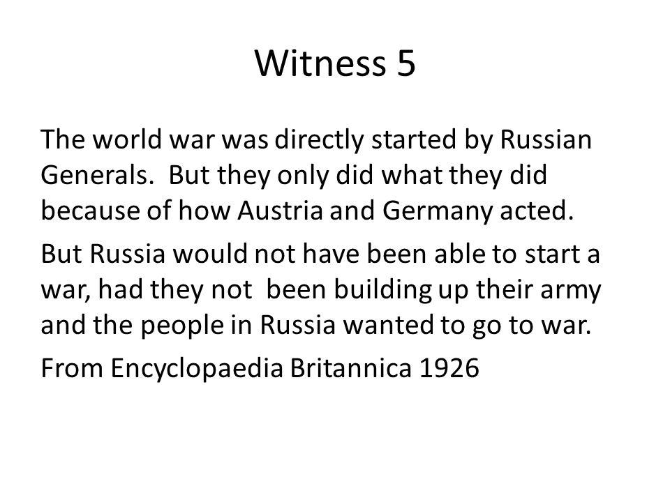 Witness 5