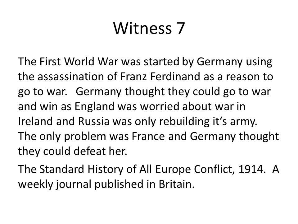 Witness 7