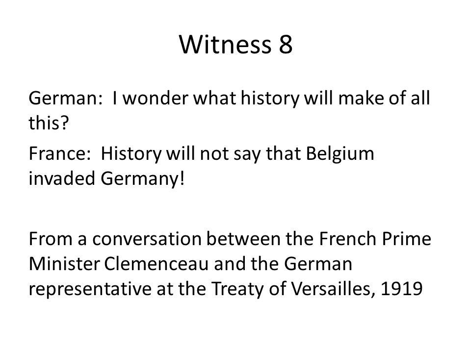 Witness 8