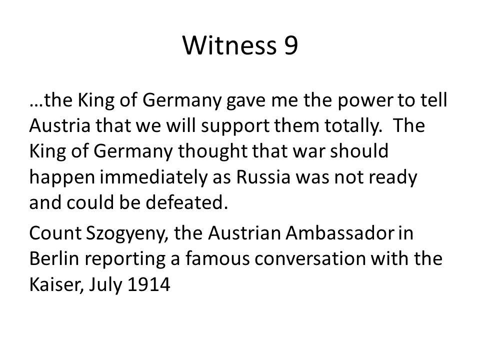 Witness 9