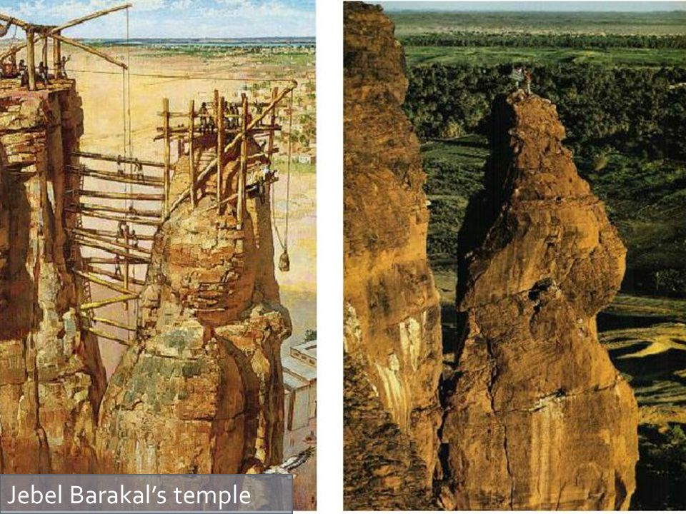 Jebel Barakal's temple