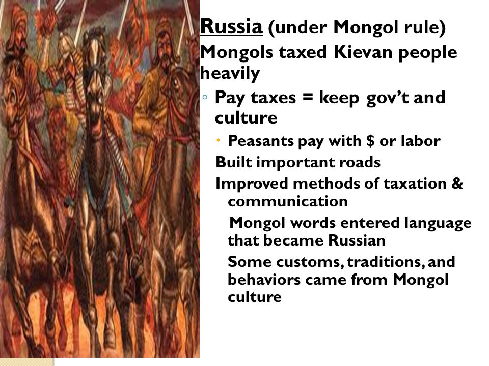 Russia (under Mongol rule)