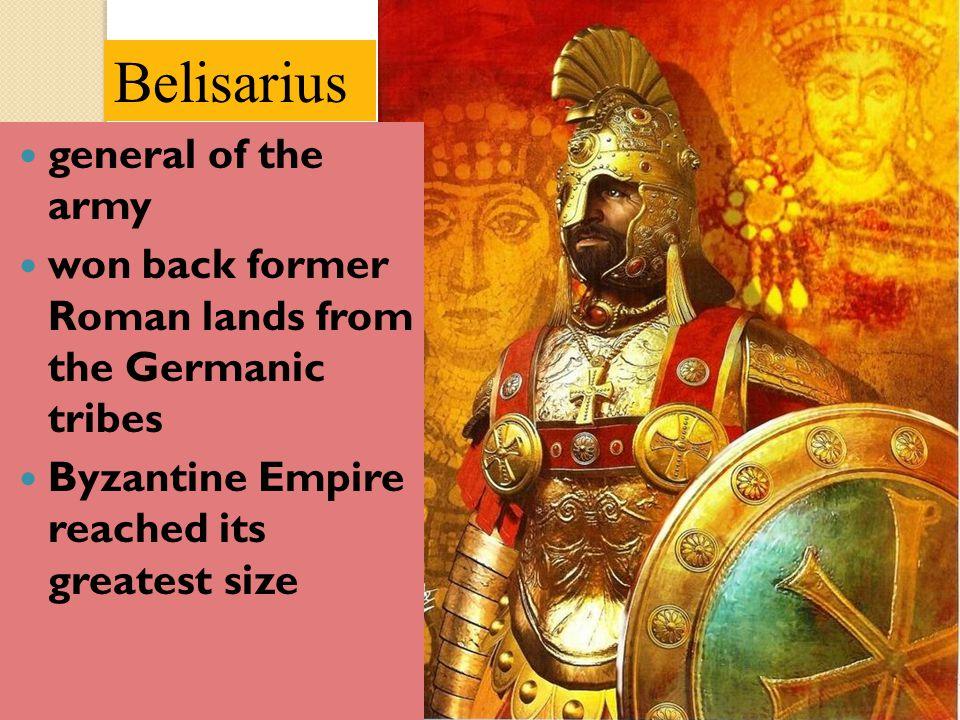Belisarius general of the army