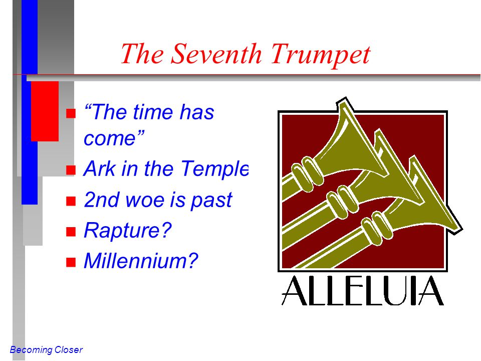 The Seventh Trumpet The time has come Ark in the Temple