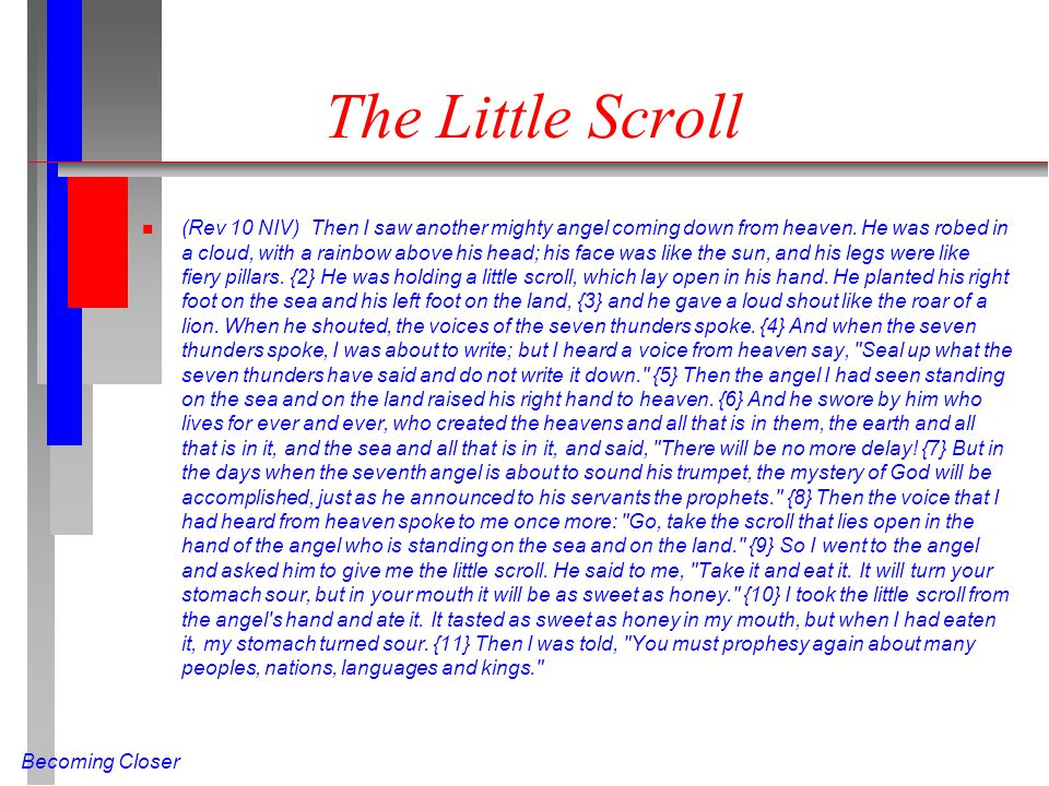 The Little Scroll