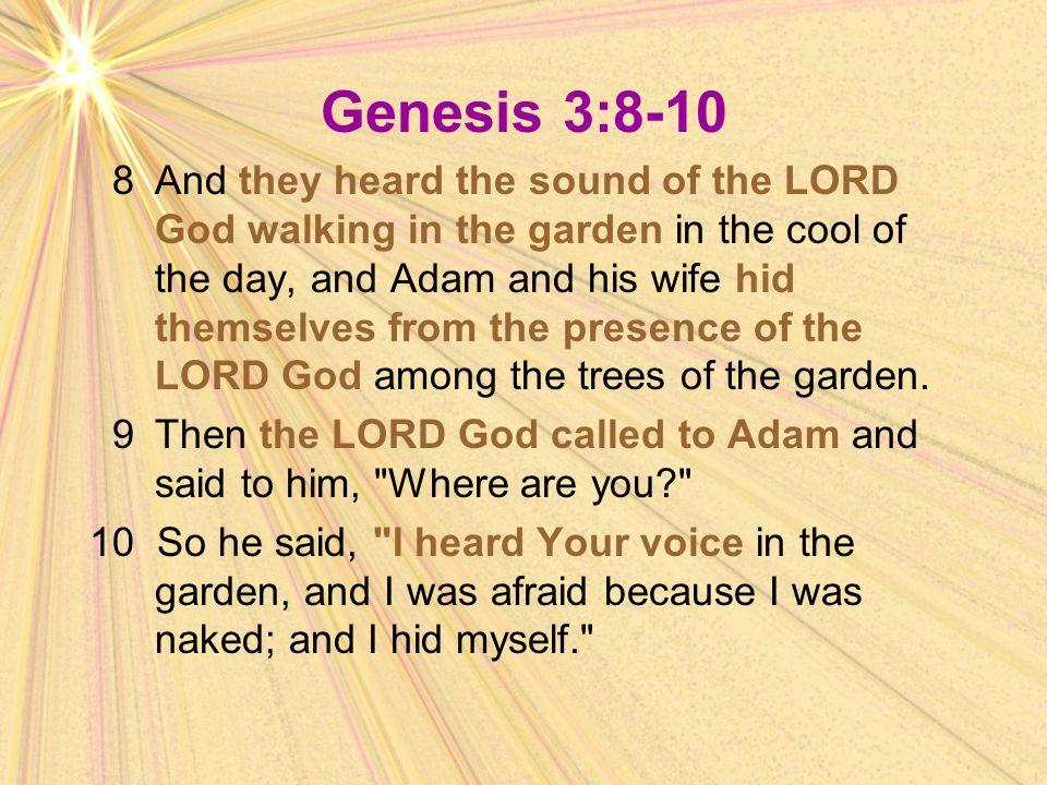 Genesis 3:8-10