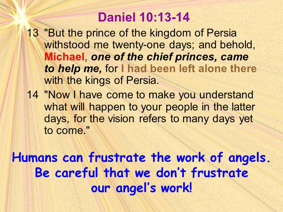 Daniel 10:13-14