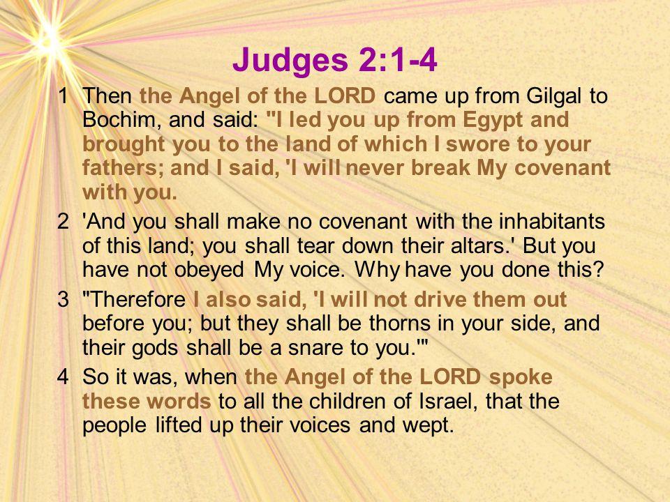 Judges 2:1-4