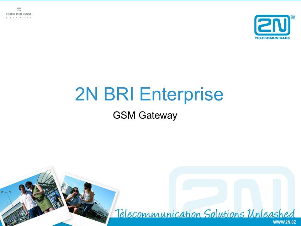 2N BRI Enterprise GSM Gateway