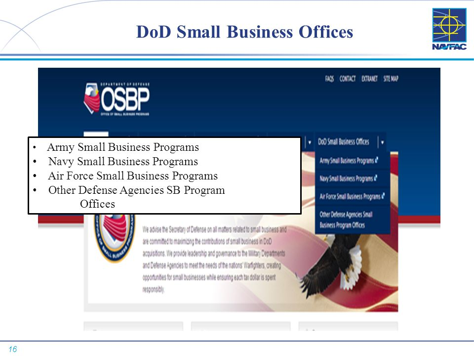 DoD Small Business Offices