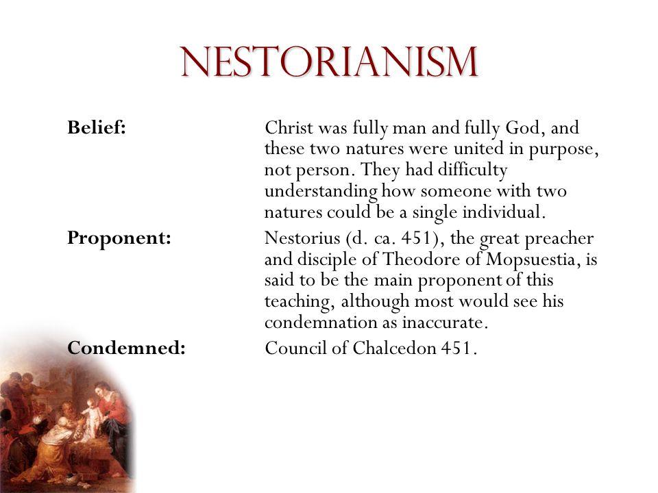 Nestorianism