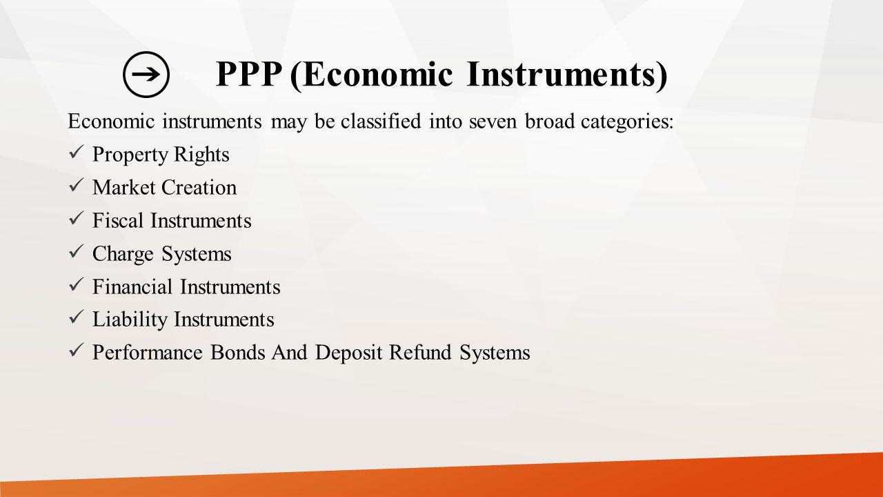 PPP (Economic Instruments)