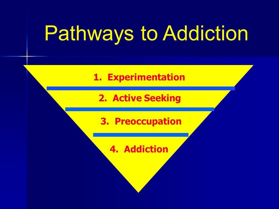 Pathways to Addiction 1. Experimentation 2. Active Seeking