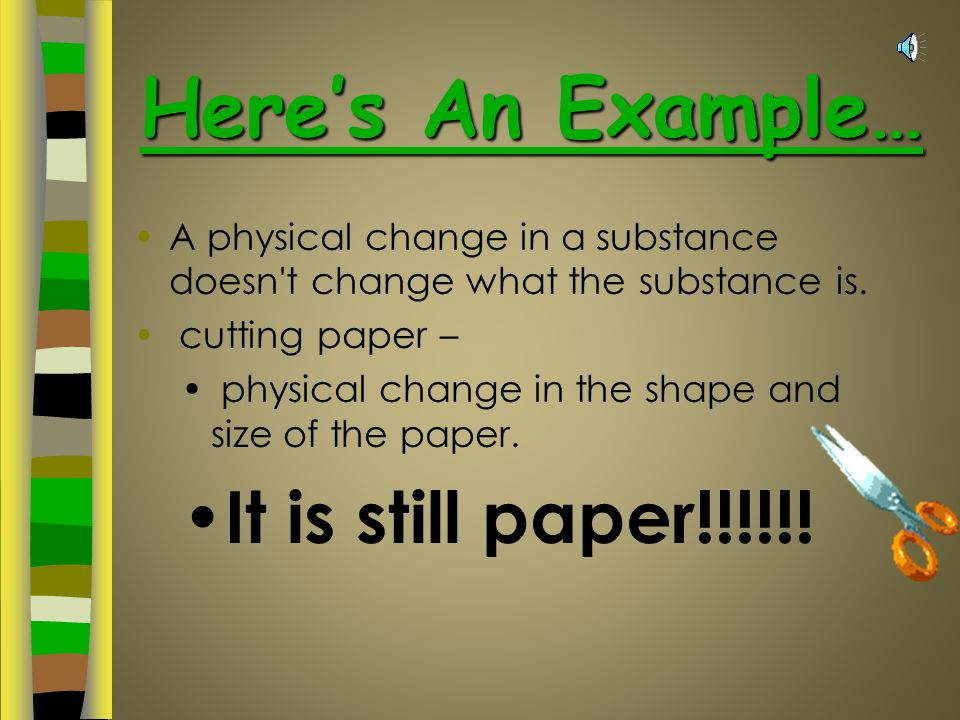 Here's An Example… It is still paper!!!!!!