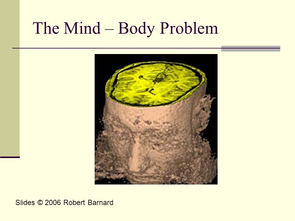 The Mind – Body Problem Slides © 2006 Robert Barnard