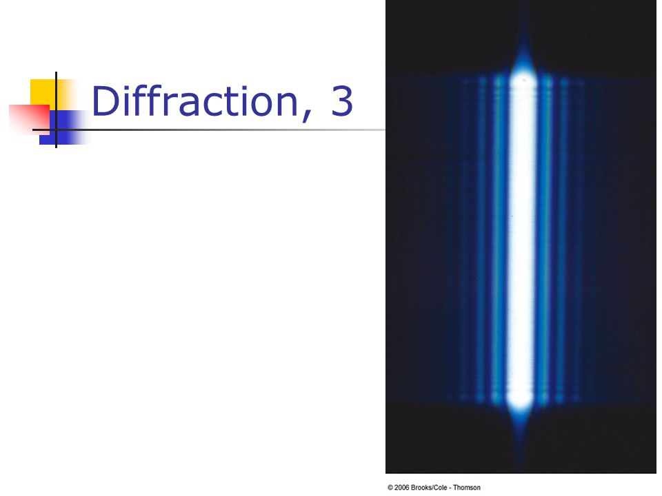 Diffraction, 3