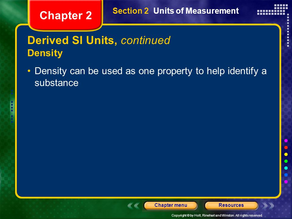 Derived SI Units, continued