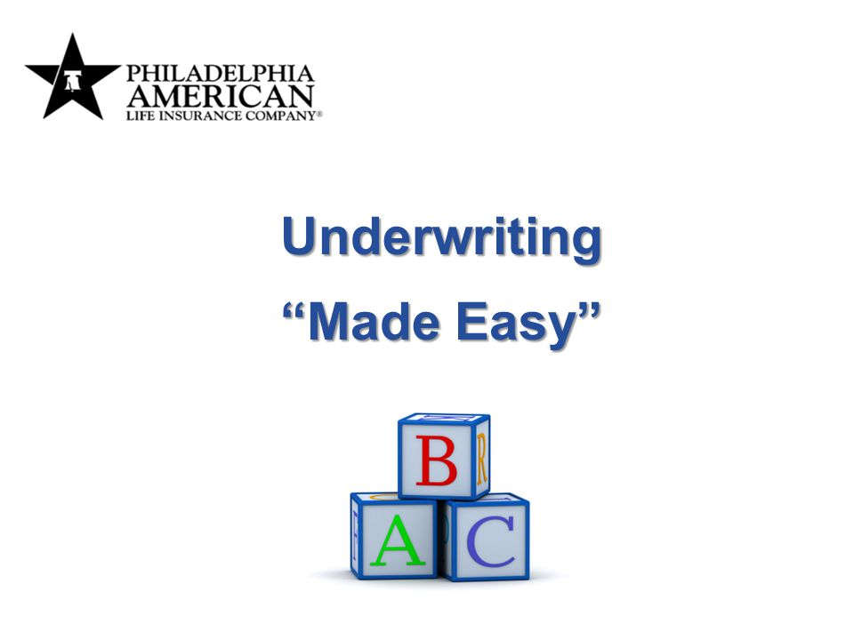 Underwriting Made Easy It's time for a change… Add Notes