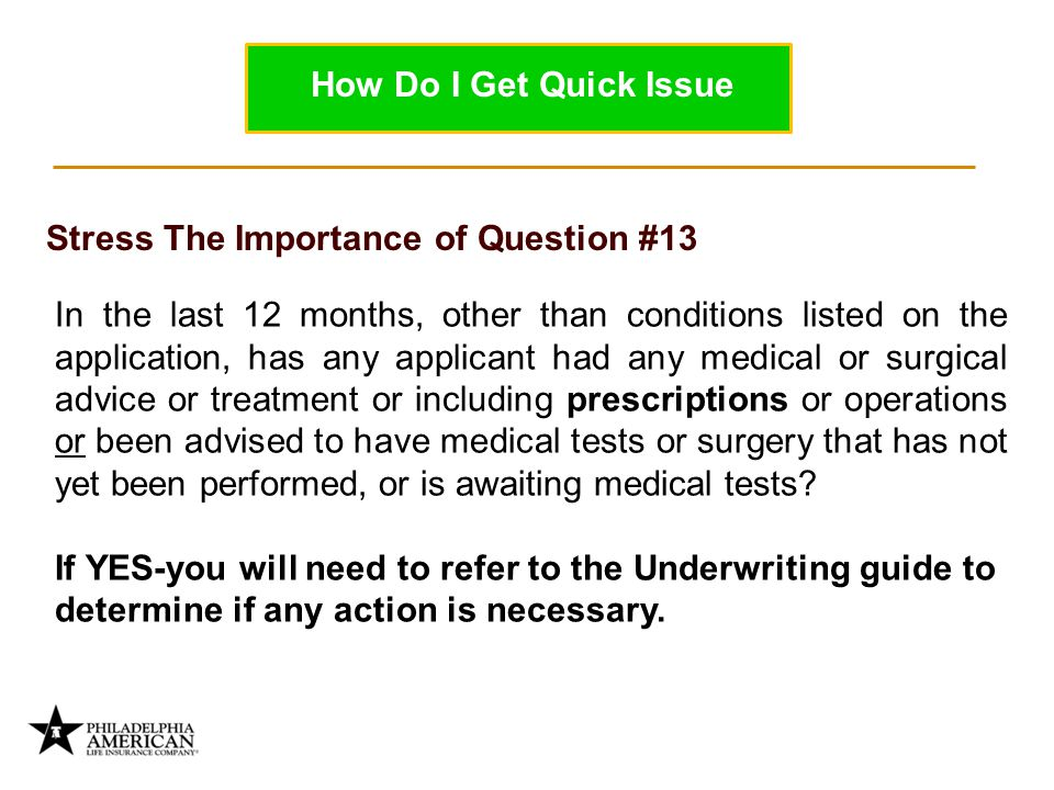 Stress The Importance of Question #13