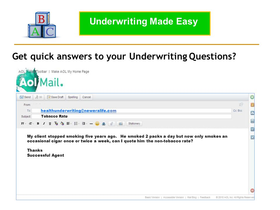 Underwriting Made Easy
