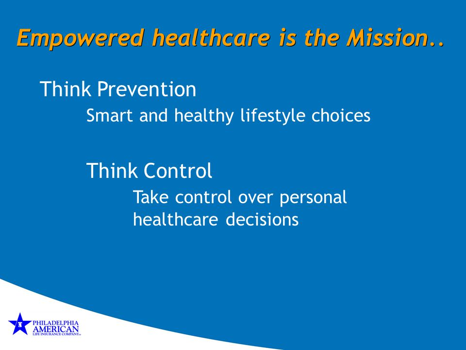 Empowered healthcare is the Mission..