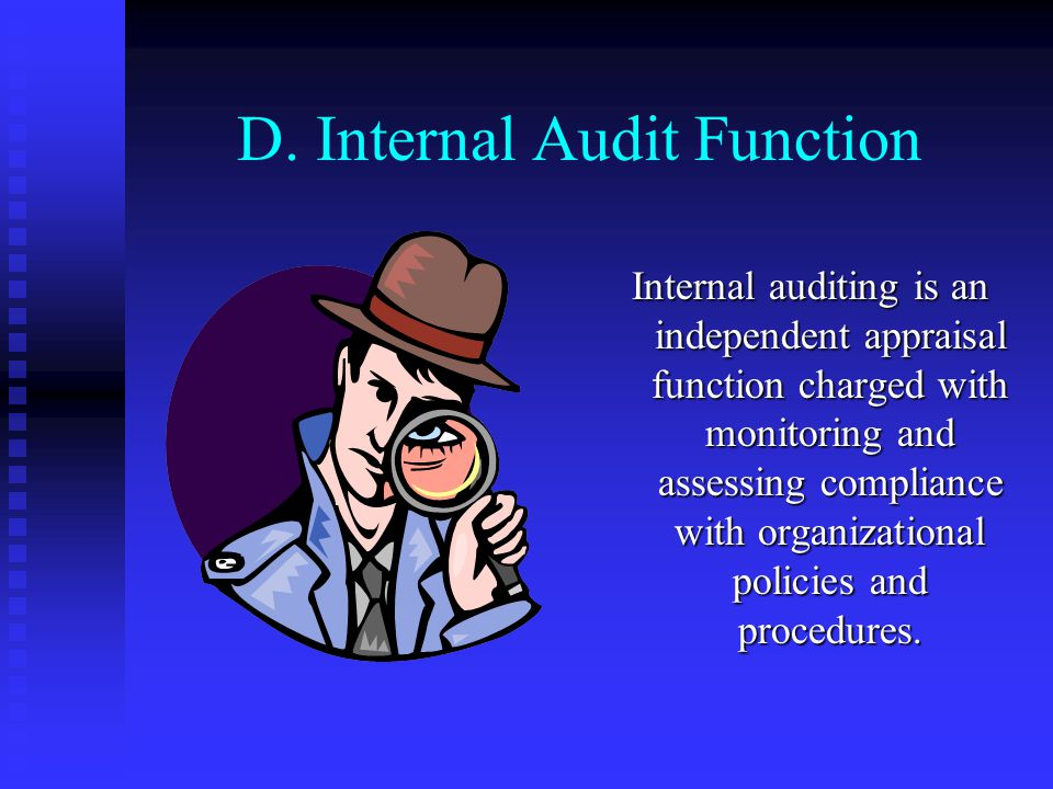 D. Internal Audit Function