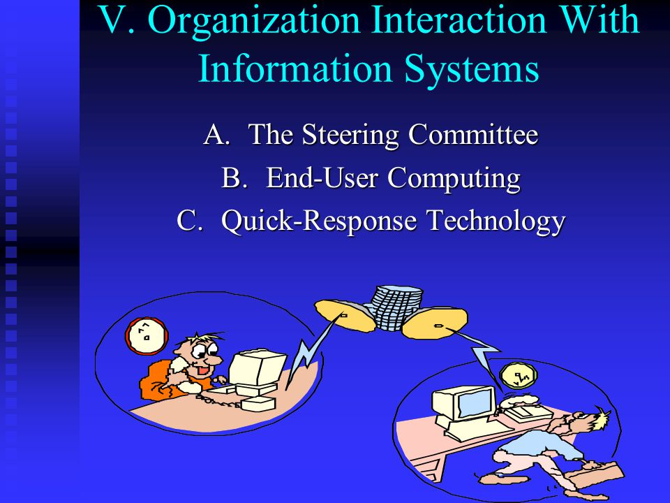 V. Organization Interaction With Information Systems