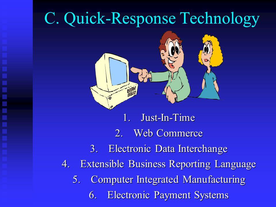 C. Quick-Response Technology