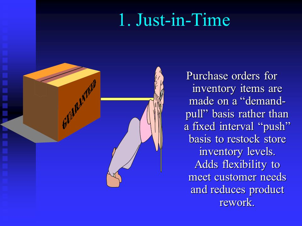 1. Just-in-Time