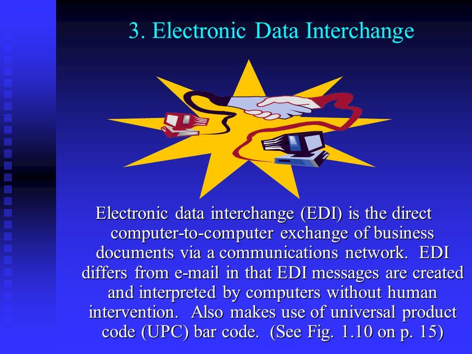 3. Electronic Data Interchange