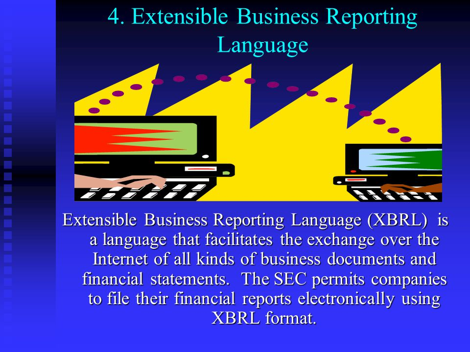 4. Extensible Business Reporting Language