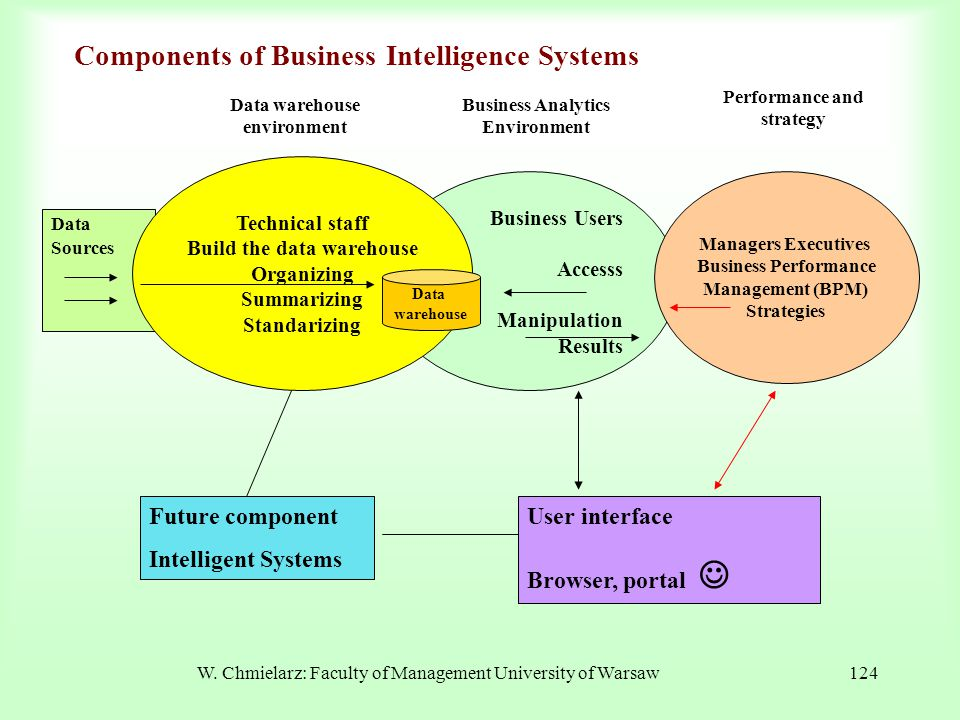 Components of Business Intelligence Systems