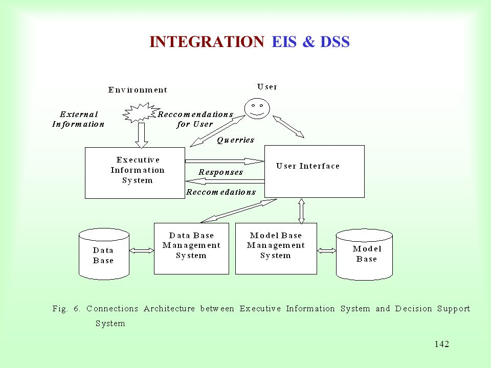 INTEGRATION EIS & DSS