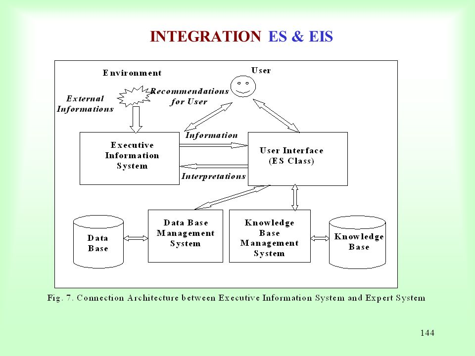 INTEGRATION ES & EIS