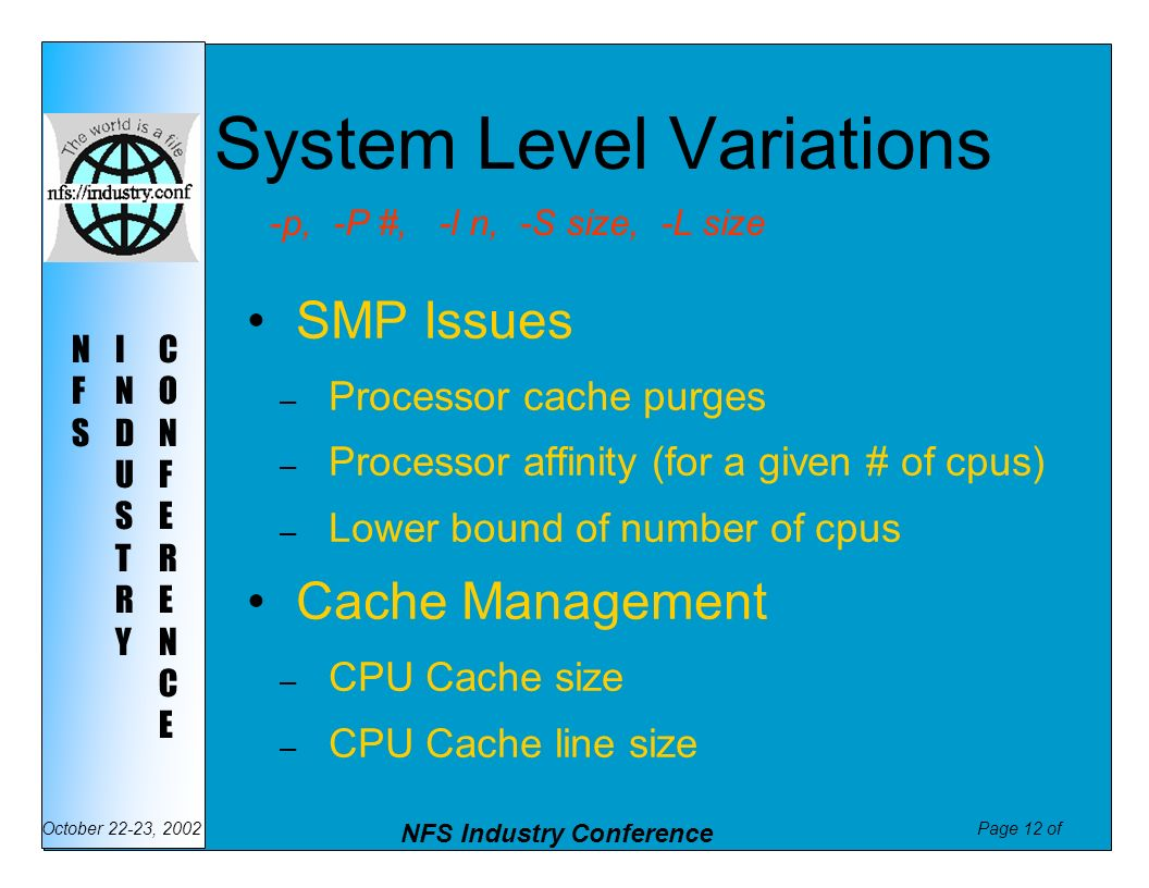 System Level Variations
