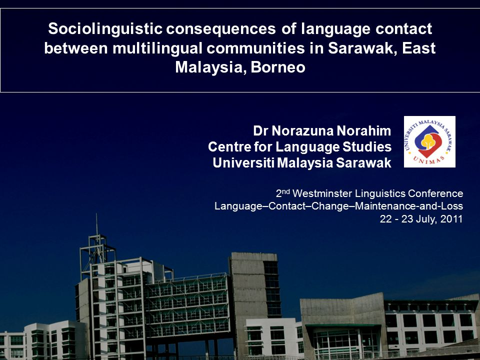 Sociolinguistic consequences of language contact between multilingual communities in Sarawak, East Malaysia, Borneo