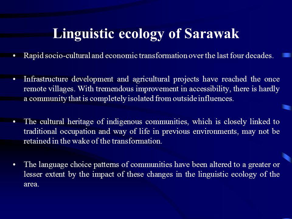 Linguistic ecology of Sarawak