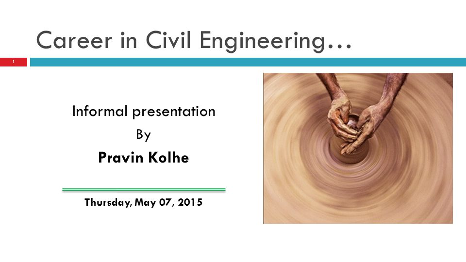 Career in Civil Engineering…